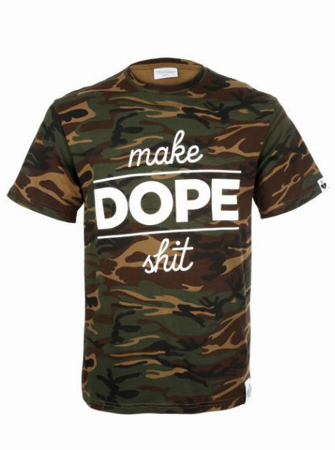 T-shirt Make Dope Shit Camo