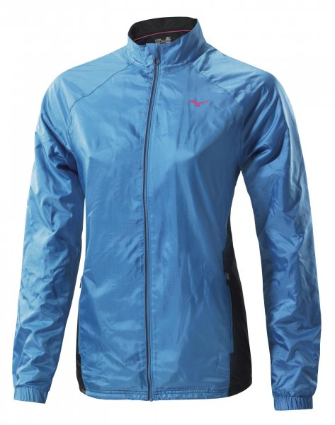 Mizuno Kurtka Do Biegania Breath Thermo Jacket W Caribbeansea M