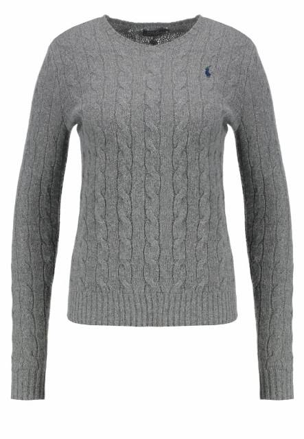 Polo Ralph Lauren JULIANNA Sweter antique heather
