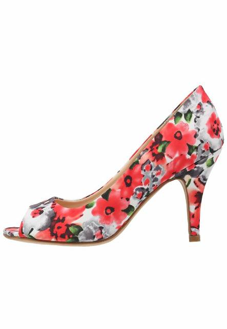 Anna Field Szpilki Peep Toe red