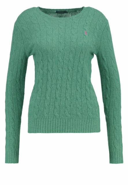 Polo Ralph Lauren JULIANNA Sweter pasture green