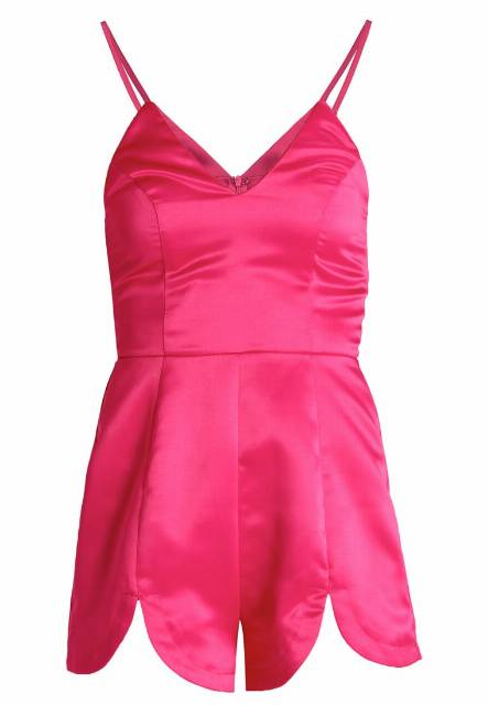 Missguided Kombinezon hot pink