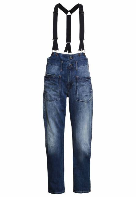 GStar DADIN 3D TAILORED BRACES LOW BOYFRIEND W Jeansy Zwężane hadron denim