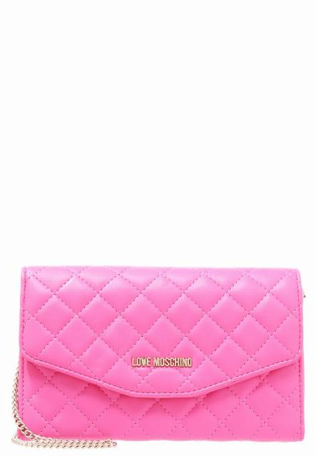 Love Moschino SUPERQUILTED  Torba na ramię rosa