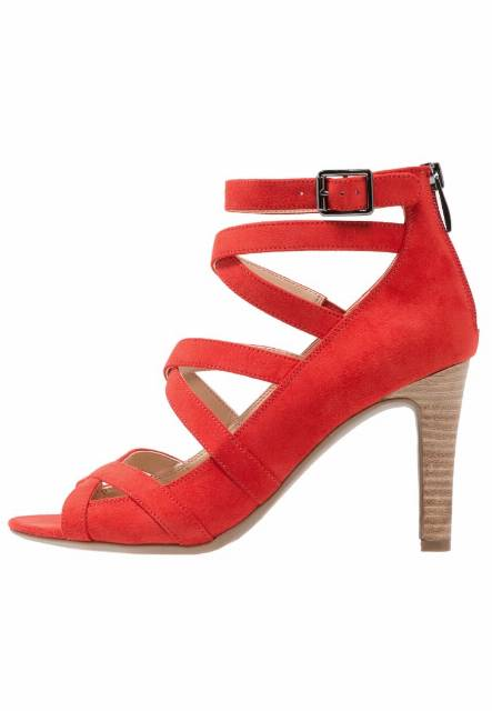 Franco Sarto QUINCEY Sandały na obcasie hibiscus red