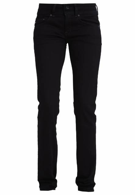 GStar MIDGE SADDLE MID STRAIGHT Jeansy Straight leg black veli superstretch