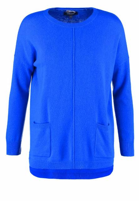 Cocoa Cashmere Sweter electric