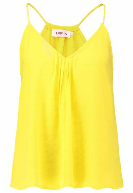 Louche HADLI Top yellow