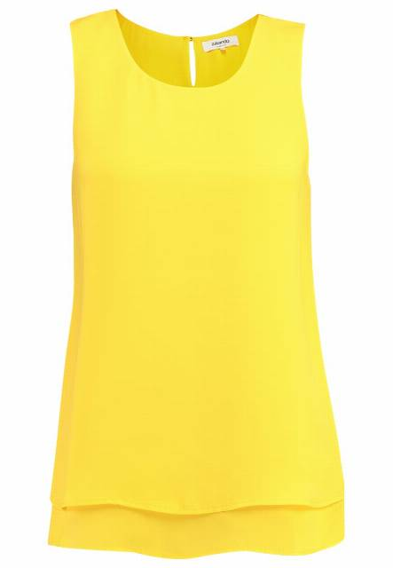 Zalando Essentials Bluzka dark yellow