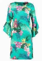 Dorothy Perkins TROPICAL SHIFT Sukienka letnia green