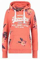 Superdry Bluza coral snowy