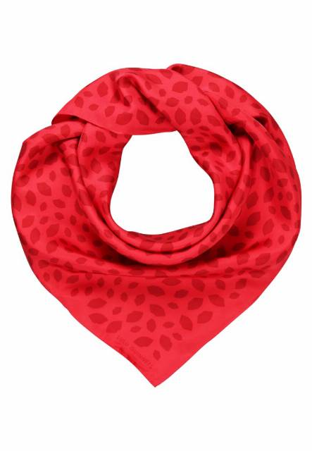 Lulu Guinness SCATTERED LIPS Chusta red