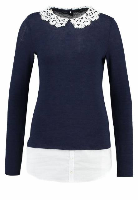 Dorothy Perkins Tall Sweter navy/ivory
