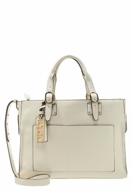 LYDC London Torba na zakupy cream