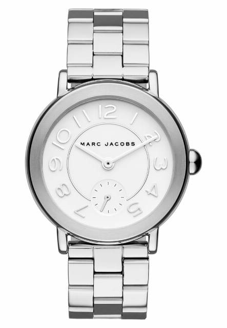 Marc Jacobs RILEY Zegarek silber