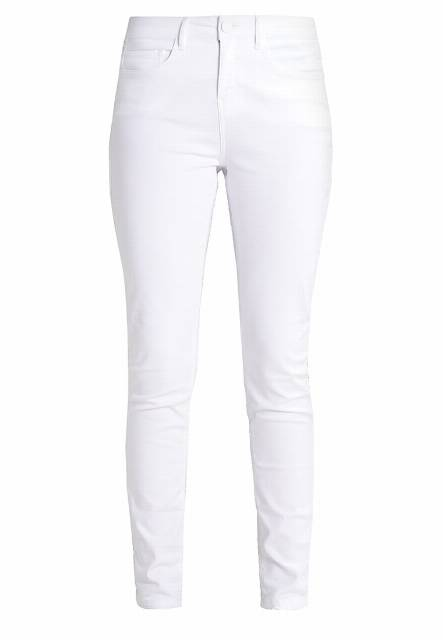 Opus EMILY Jeansy Slim fit white