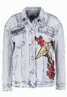 True Religion TRUCKER Kurtka jeansowa blue denim