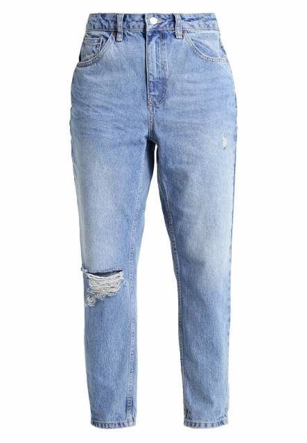 Topshop Petite Jeansy Relaxed fit middenim