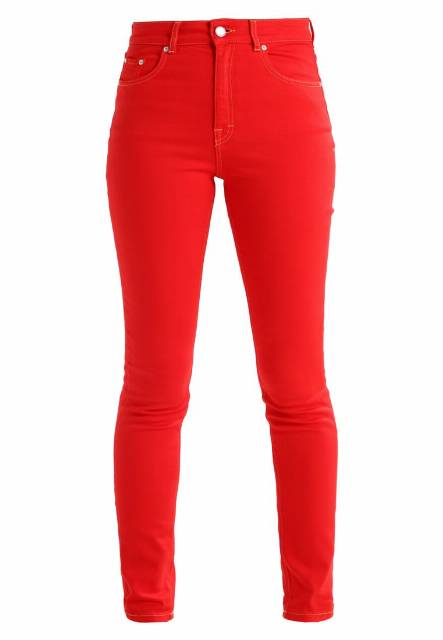Won Hundred MARILYN Jeansy Slim fit chinese red