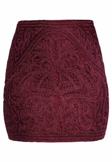 Ivyrevel LIVELY Spódnica mini burgundy