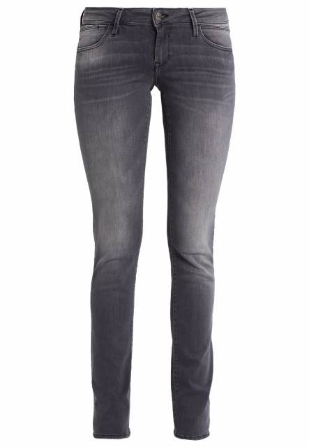 Mavi LINDY Jeansy Slim fit grey glam