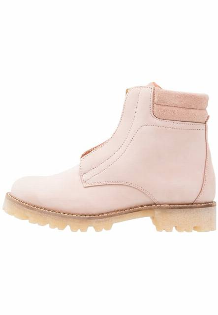 Pieces PSPAMELINA NUBUCK BOOT EVENING SAND Botki evening sand