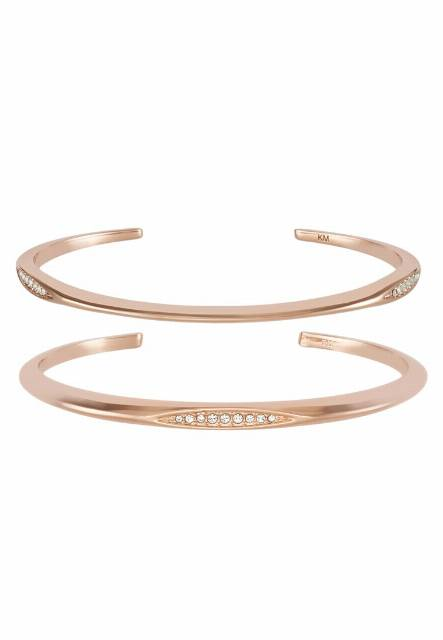 Karen Millen Bransoletka rose goldcoloured