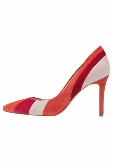 Karen Millen Szpilki red/multicolor