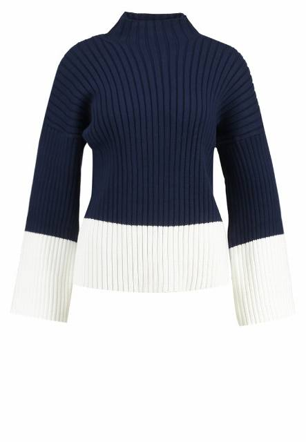 Polo Ralph Lauren BELL  Sweter bright navy/collection cream