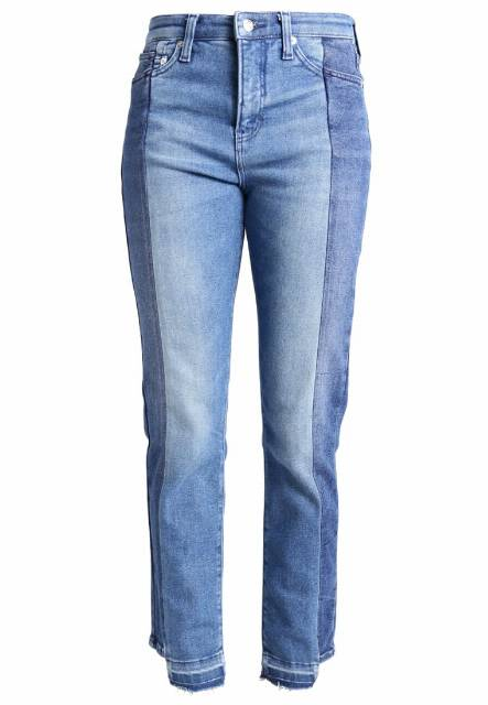 MAC HIGHRISER Jeansy Straight leg blue wash