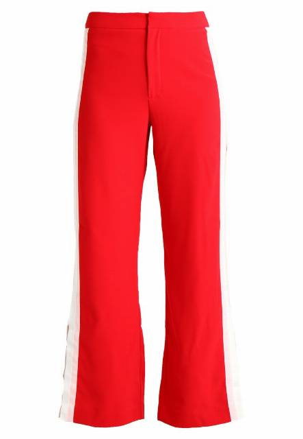 Ivyrevel LOWELL TROUSERS Spodnie materiałowe hot red