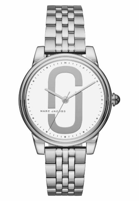 Marc Jacobs CORIE Zegarek silvercoloured