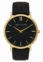 Larsson & Jennings LUGANO SMALL Zegarek goldcoloured/black