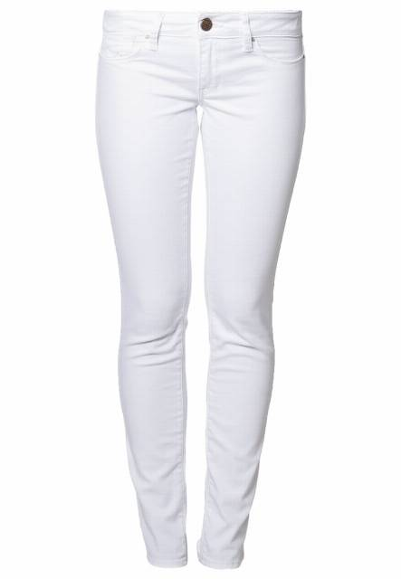 Mavi LINDY Jeansy Slim fit white