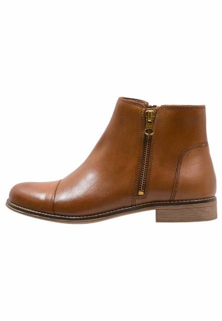 Pier One Ankle boot cognac