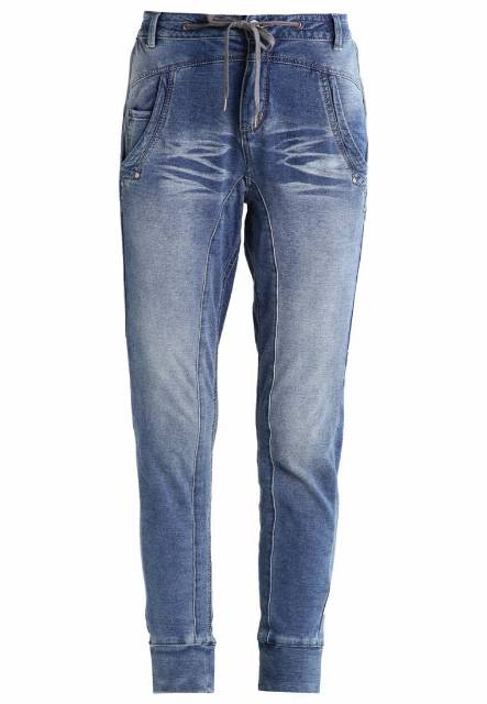 Cream MIA Spodnie treningowe medium blue denim