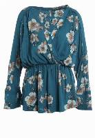 Free People TUSCAN DREAMS Tunika turquoise