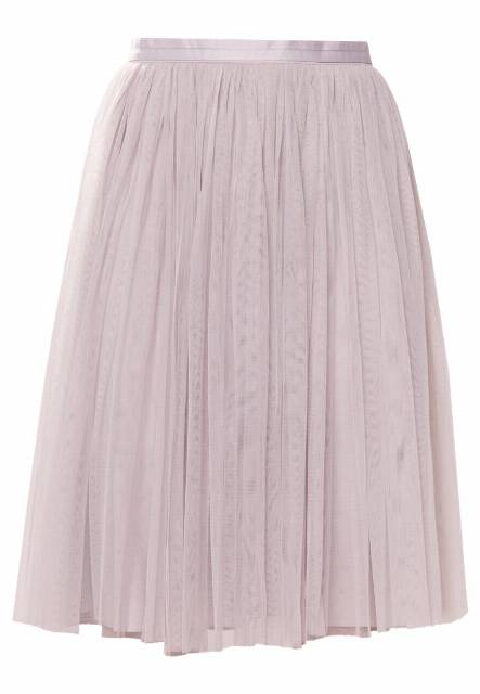 Needle & Thread TULLE MIDI SKIRT Spódnica trapezowa dove