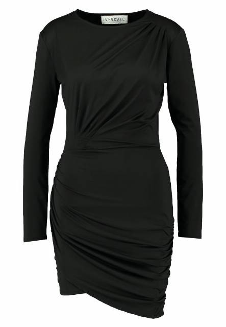 Ivyrevel VERBENA DRESS Sukienka z dżerseju black