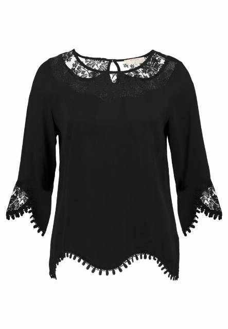 Cream KALANIE BLOUSE Bluzka pitch black
