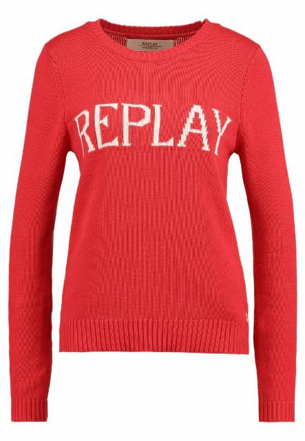 Replay Sweter red