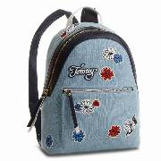 Plecak TOMMY HILFIGER - Backpack Icon Canvas Flower AW0AW05288  902