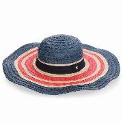 Kapelusz TOMMY HILFIGER - Corporate Straw Wide Brim Hat AW0AW05242 901