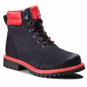 Trapery EMPORIO ARMANI - XYM003 XOU01 D127 D Blue Navy/Red