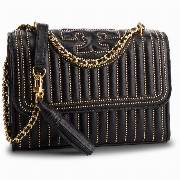 Torebka TORY BURCH - Fleming Mini Stud Small Convertible Shoulder Bag 52310 Black 001