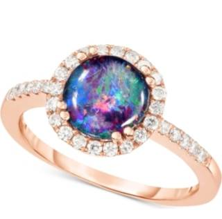 opal-triplet-8mm-and-diamond-1-3-ct-t-w-halo-ring-in-14k-rose-gold
