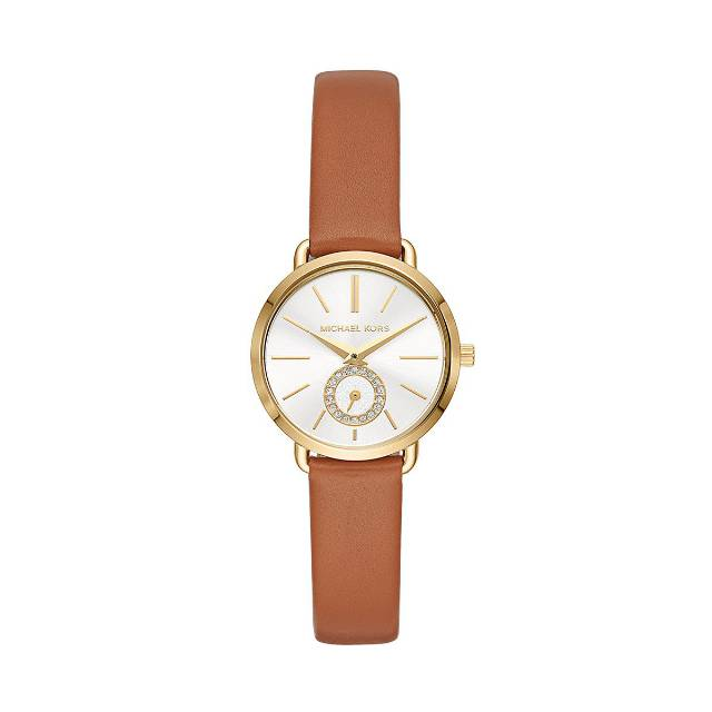 Zegarek MICHAEL KORS - Portia MK2734 Brown/Gold