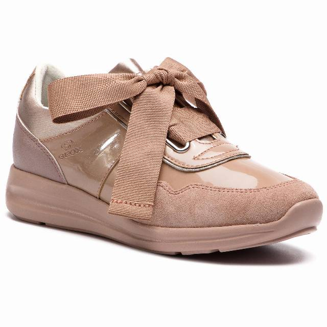 Sneakersy GEOX - D Agyleah A D926CA 0HI22 C8056 Antique Rose