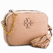 Torebka TORY BURCH - Mcgraw Camera 50584 Devon Sand 288