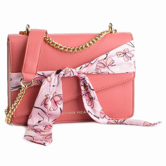 Torebka SILVIAN HEACH - Shoulder Bag Square Benavis RCP19001BO Strawberry W0573